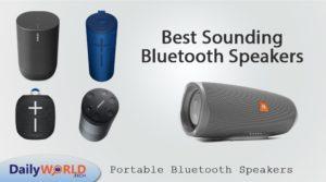 Best Sounding Bluetooth Speakers
