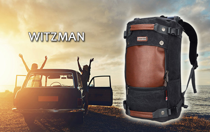 Witzman Travel Backpack | Best Travel Backpack For Men With Bags Price - 2020