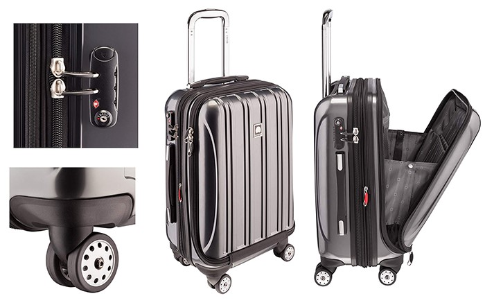 Desley Paris helium aero luggage