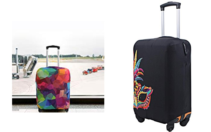 Explore land travel luggage